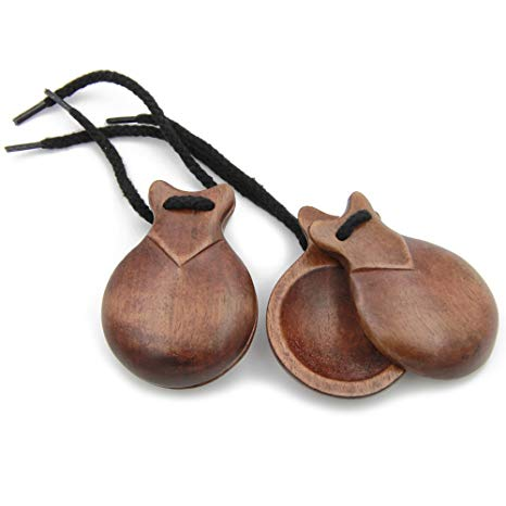 Traveller Location: Semi-Professional Jale Spanish Castanets Castañuelas Made In  Spain (5): Musical Instruments