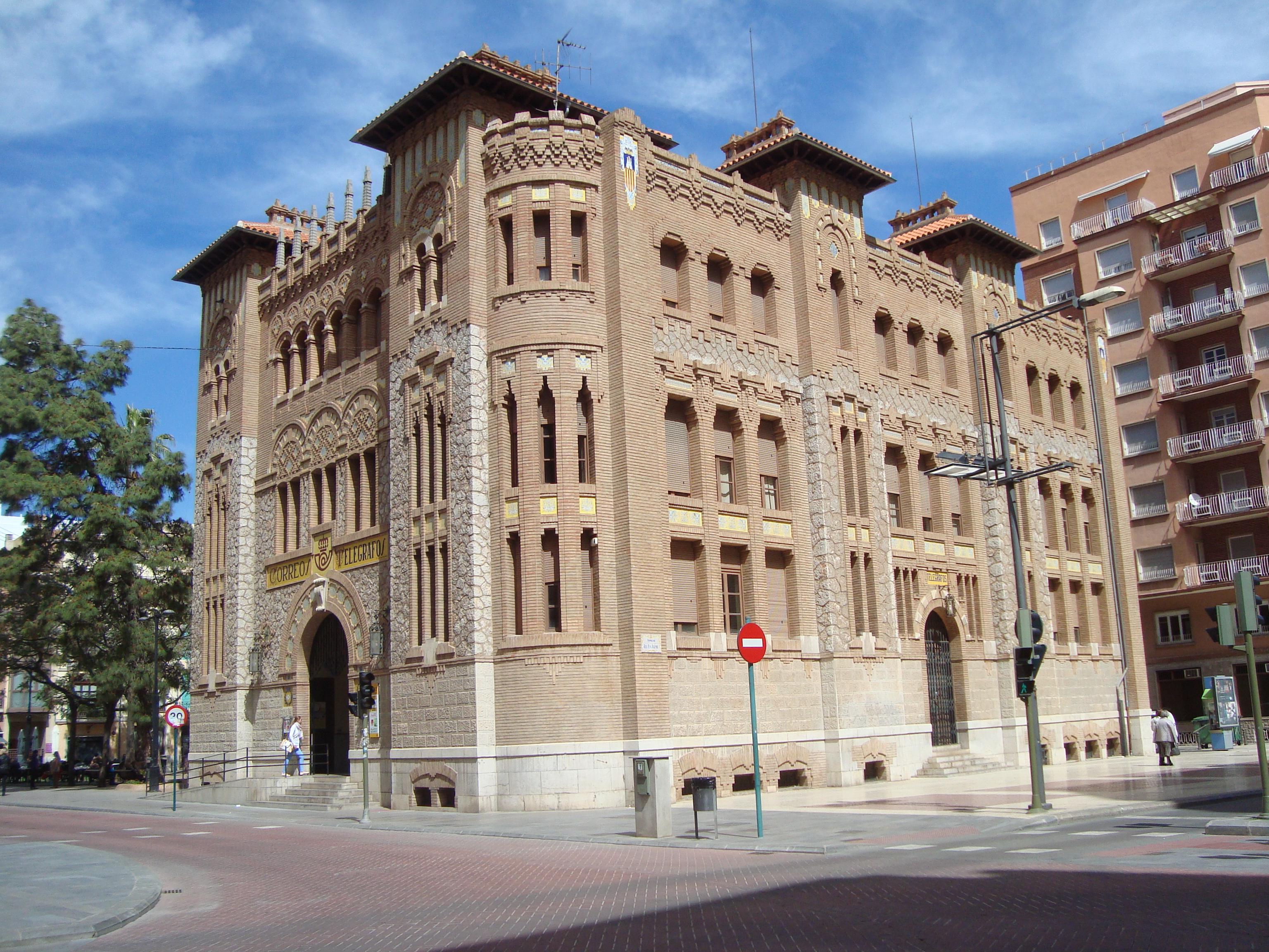 Archivo:Edificio de Correos de Castellón de la Plana.JPG