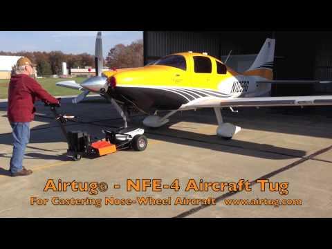 Airtug NFE-4 Aircraft Tug - Cessna TTX - Castering Nose-wheel Aircraft