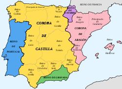 División durante el Antiguo Régimen. Sus orígenes están en la Castilla