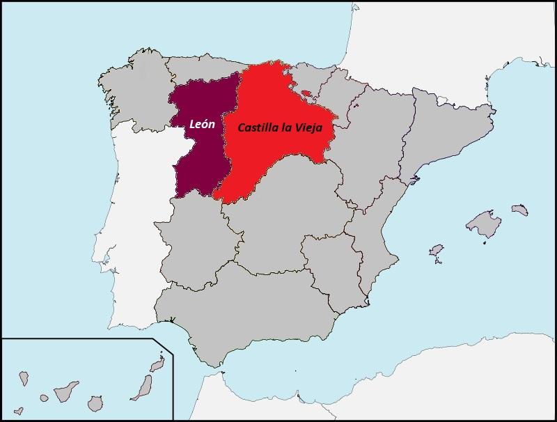 Archivo:León y Castilla la Vieja en la España de 1936.jpg