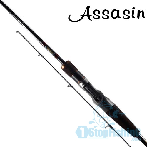 BOSSNA ASSASIN CASTING RODS - length-56 - 0-8-1-8