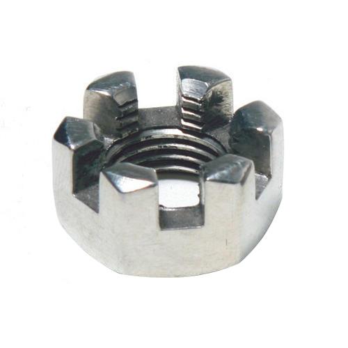 Castle Nut, Size: M3-M100