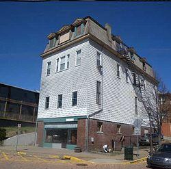 Castle Shannon, Pennsylvania. Borough · Willow Avenue and Poplar Street