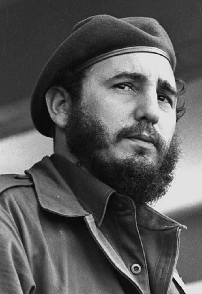 Foto: Liborio Noval. Fidel Castro