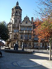 Castrop Rauxel Square, Wakefield, named after its twin town