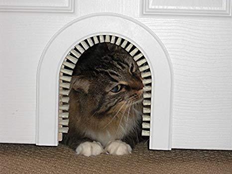 Cat Door - The Original Cathole Interior Pet Door - The Only Cat Door With A