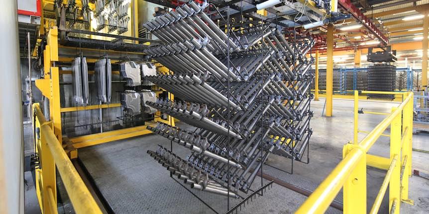 TPV Group - Automotive industry - Production processes - Cataphoresis  coating