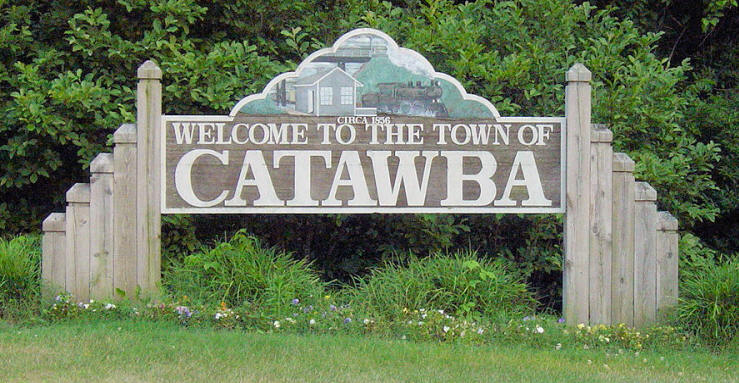 Catawba County, North Carolina, is located in the western part of the State  in the foothills of the Blue Ridge Mountains. In 1842 the northern third of