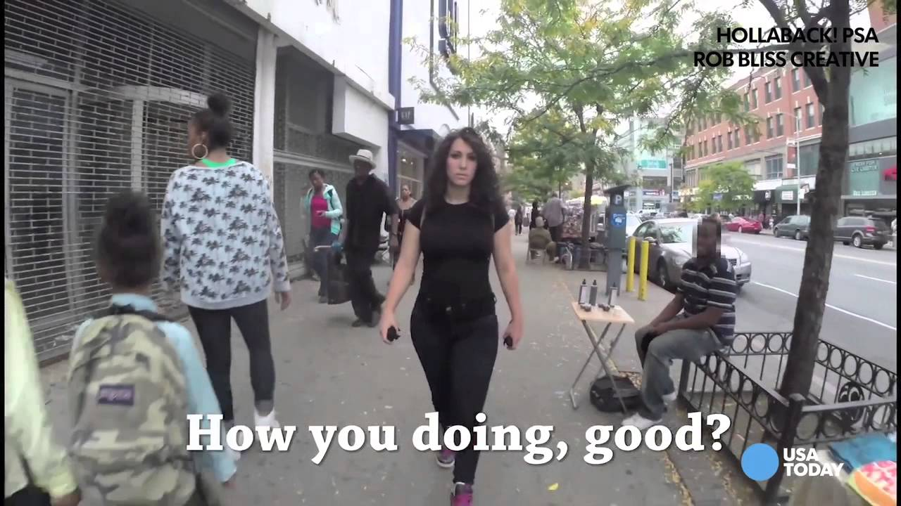Woman catcalled 100 times on New York streets