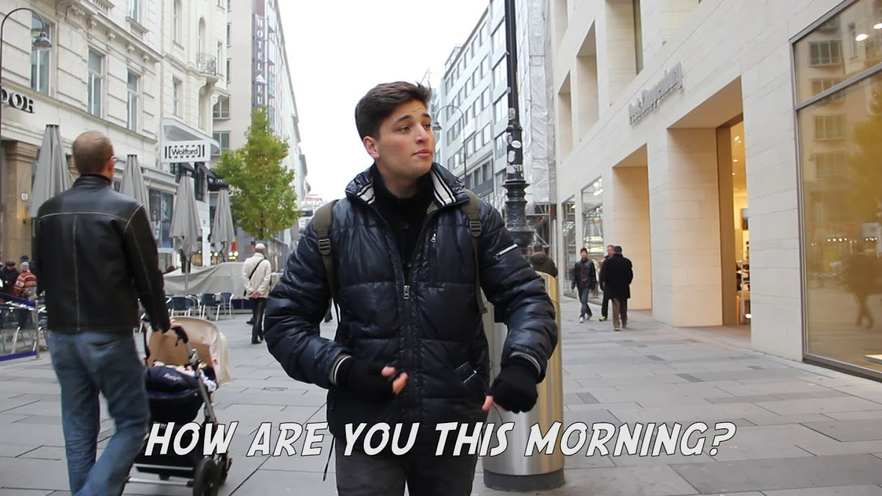 10 Hours of Walking in Vienna as a Catcaller