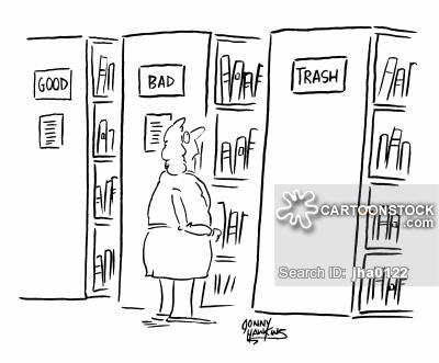Categorised cartoon 4 of 5