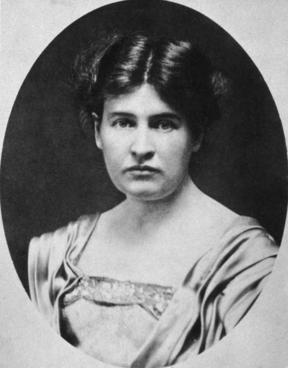 A stalwart young career woman: Willa Cather in her early twenties