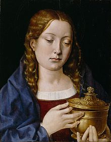 Michael Sittow, Mary Magdalene, probably using Catherine as model