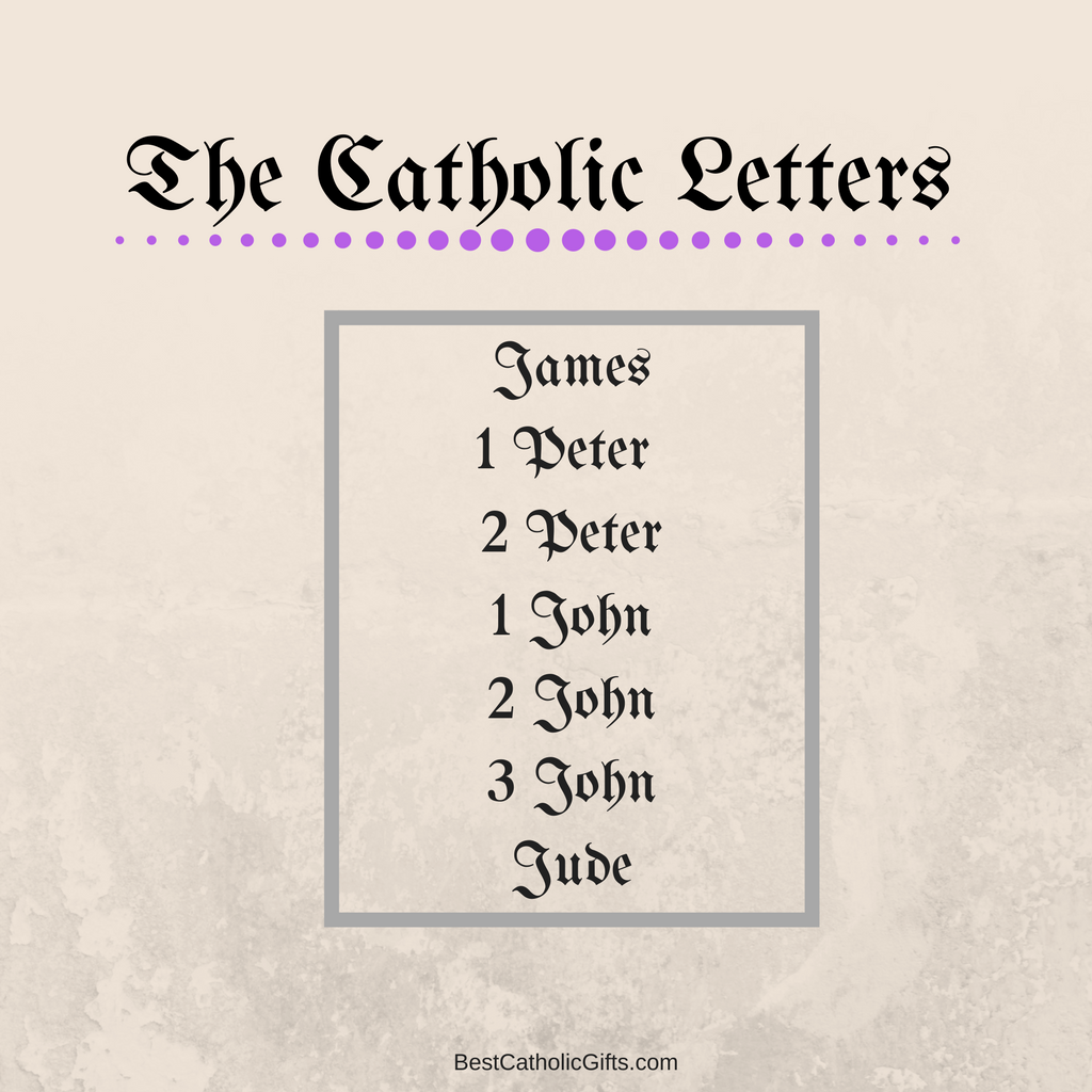the catholic letters of the new testament