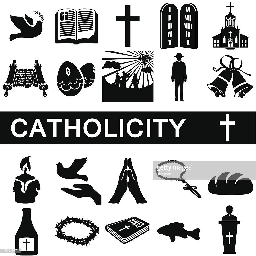Iconos para catholicity : Arte vectorial