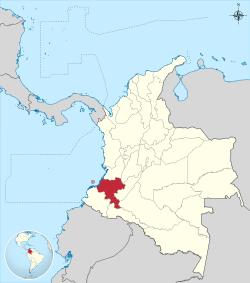Colombia - Cauca.svg