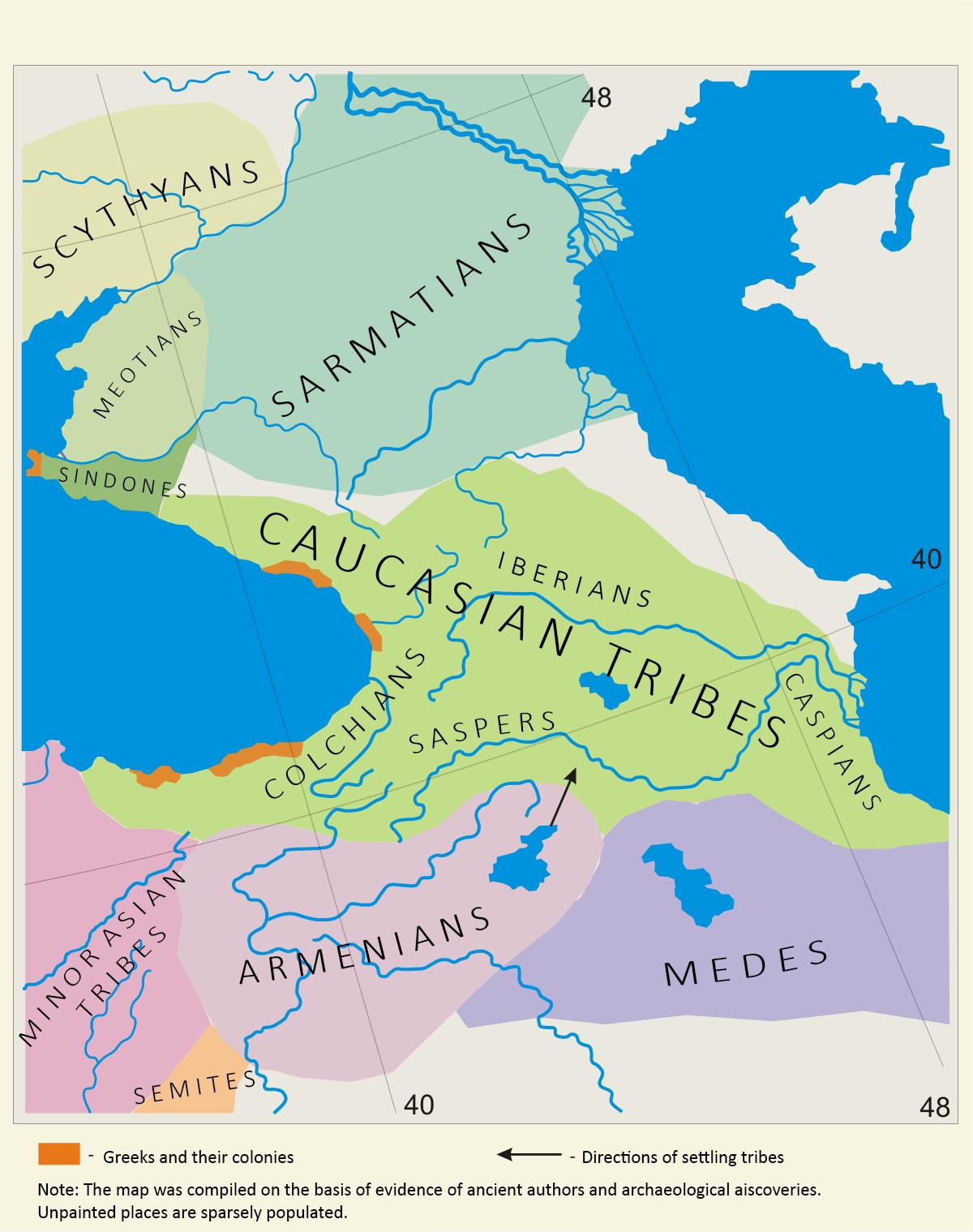 Caucasic-tribes
