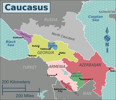 Caucasus regions