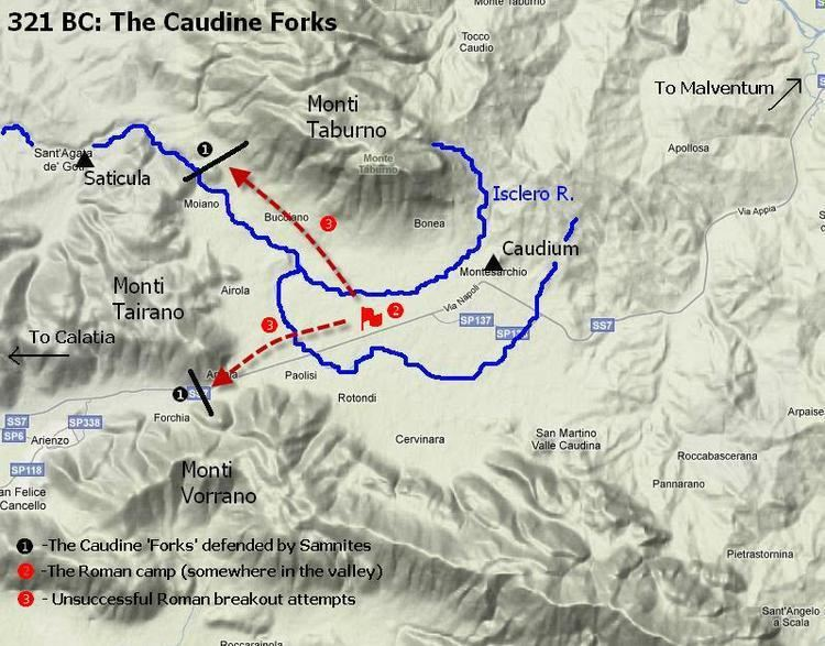 Battle of the Caudine Forks Military History Online The Second Samnite War