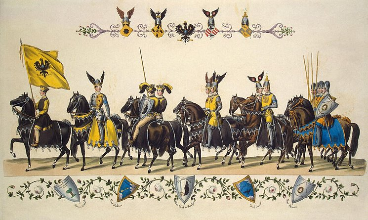 Cavalcade of Princes and Knights. Quadrille 4