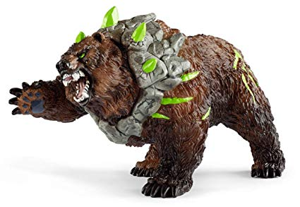 Schleich Cave Bear Toy, Multicolor