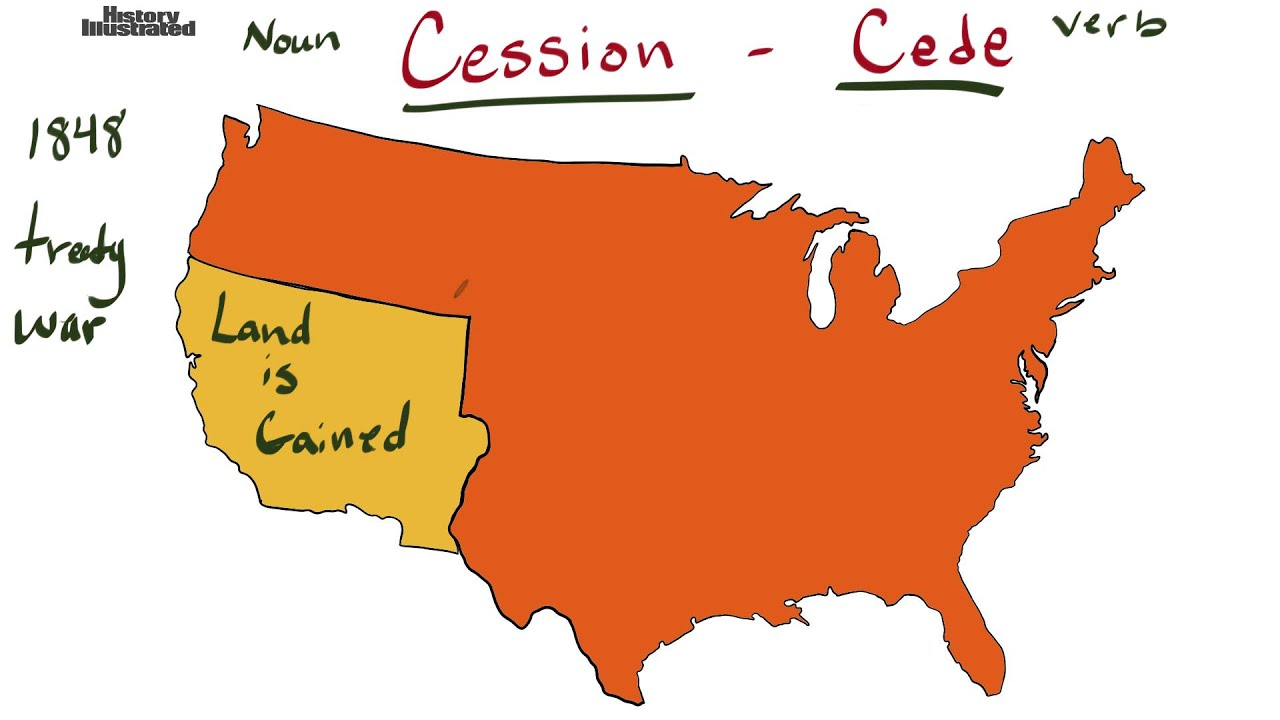 Cede or Cession Definition for Kids