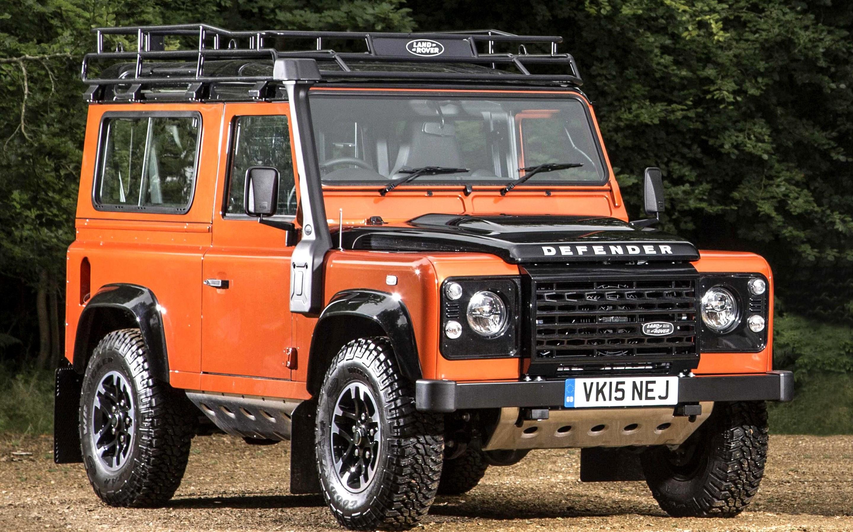 Land Rover Defender Adventure front