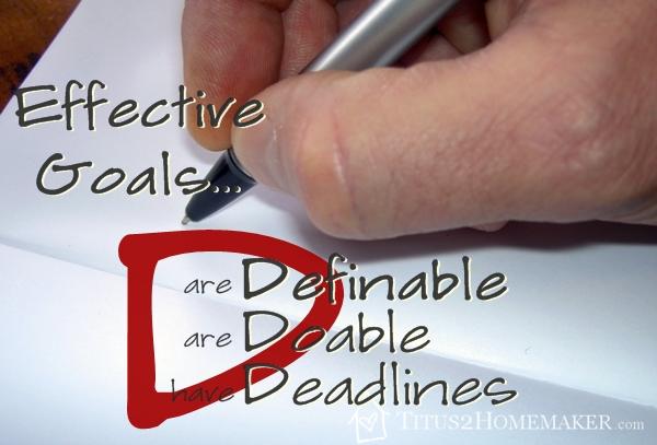 Effective Goals are Definable
