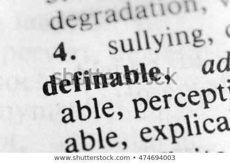 Definable