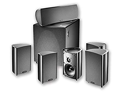 Definitive Technology Pro Cinema 600 - 5.1 Home Theater System - Black