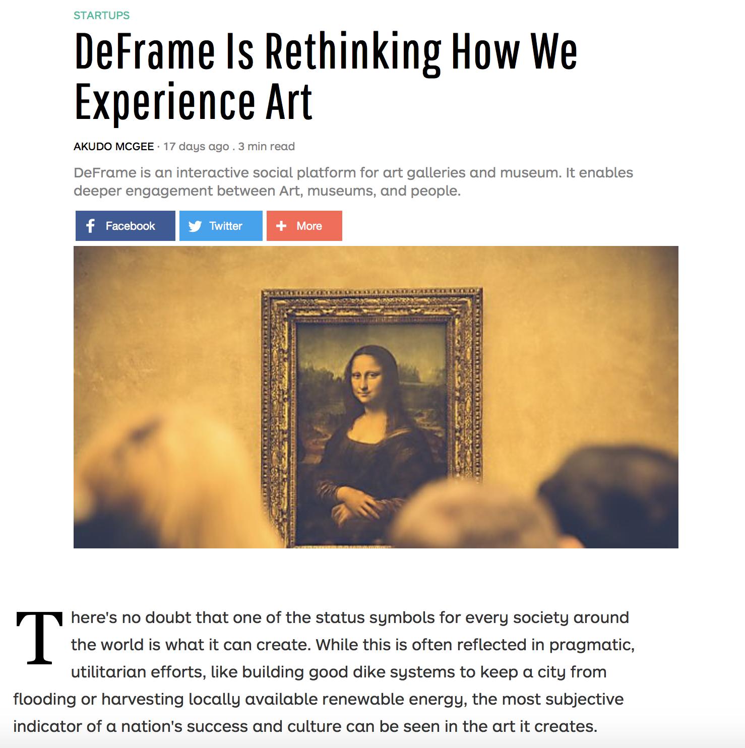 DeFrame Jobs: Screenshot