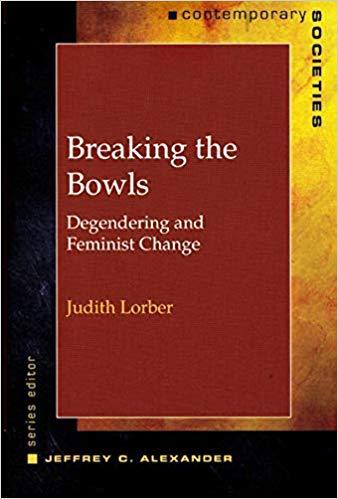 Breaking the Bowls: Degendering and Feminist Change Contemporary Societies  Series: Amazon.es: Judith Lorber: Libros en idiomas extranjeros