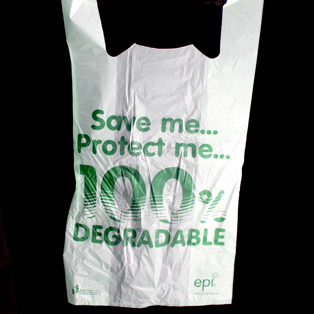 Jumbo IMAGE Degradable Plastic Carrier Bag