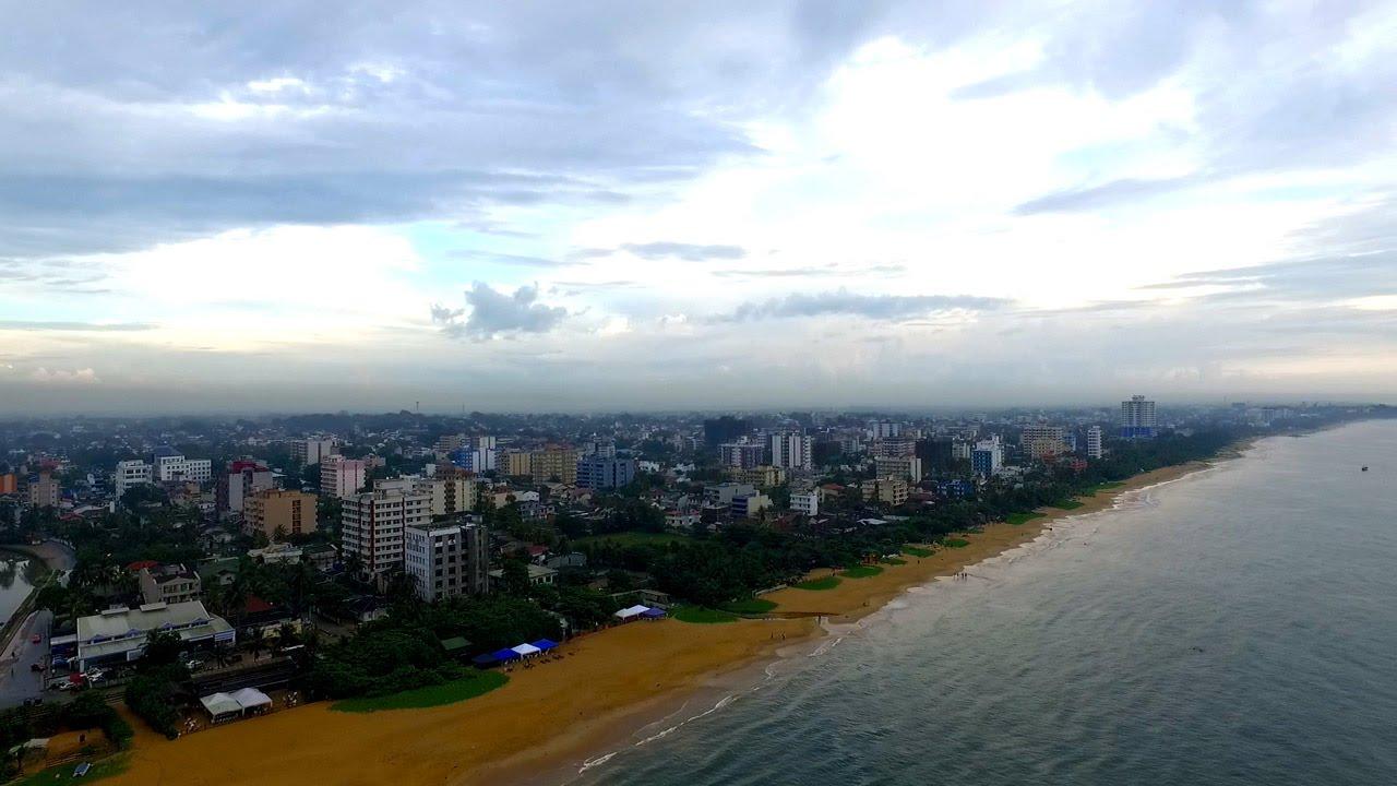 Dehiwala Mount Lavinia Beach | Colombo Aerial | GoPlaces Sri Lanka - YouTube