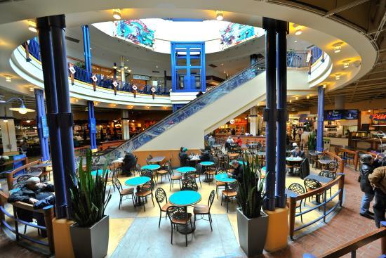 Les Galeries de Hull - foire alimentaire/food court