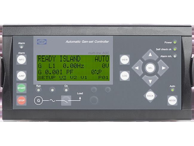 Controlador Automático de Grupo(s) Electrógeno(s) AGC-4