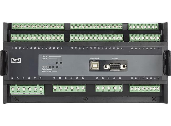 La unidad de control y protección PPU-3 de DEIF, caracterizada por su fácil  manejo y configuración, constituye un controlador ideal para los sistemas  de