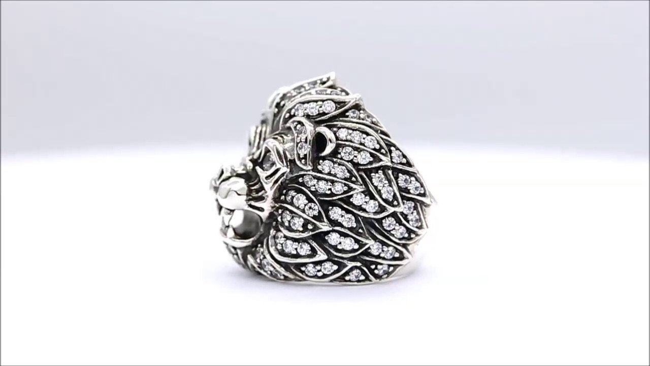 Deific Aseroth Lion Jubilee Ring