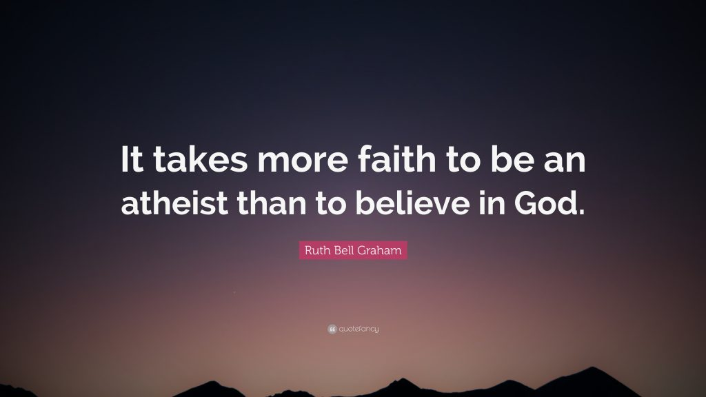 "Episode-10- Which Requires more ""Faith"" Atheism or Deism?"