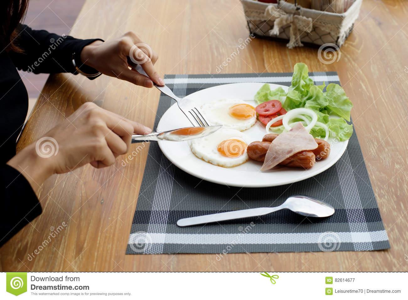 dejeuner a la fourchette