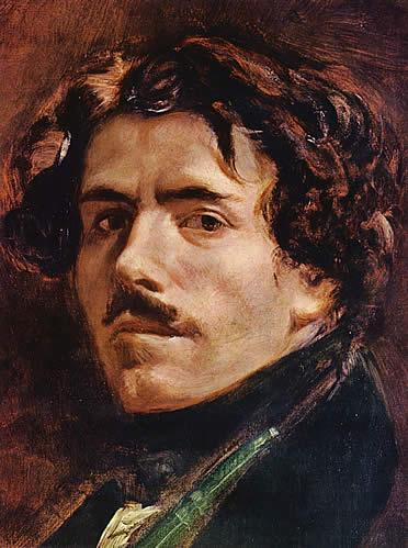 Eugène Delacroix. Autorretrato