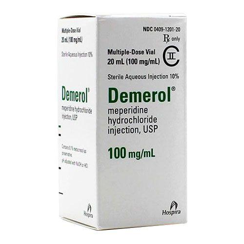 Demerol Vials 100 mg/ml
