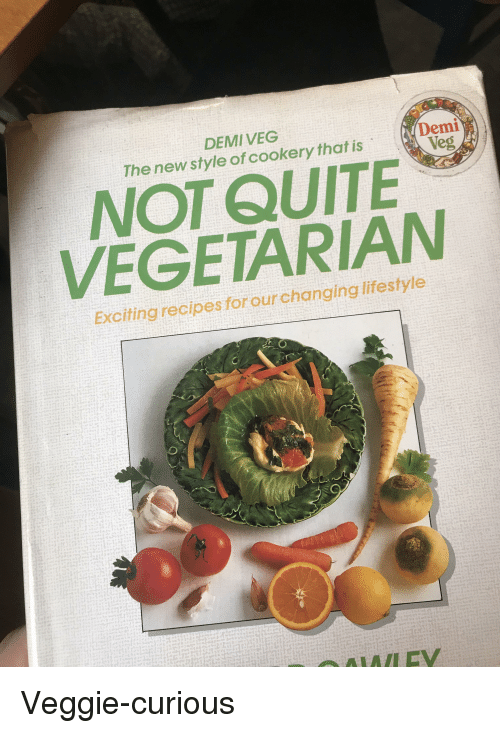 Funny, Lifestyle, and Quite: DEMIVEG The new style of cookery that is Demi