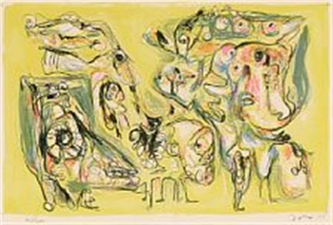 le forêt demivierge by asger jorn