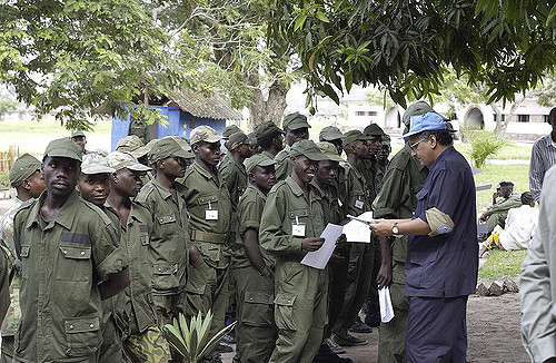 Rwandan Ex-Combatants Demobilize | by United Nations Photo