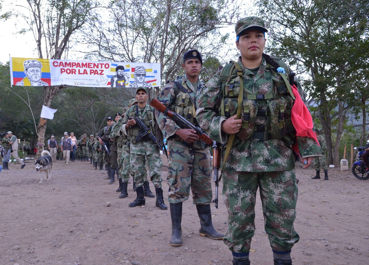PHOTOS: FARC rebels demobilize in Colombia https://Traveller Location/PKTPX7zSMu