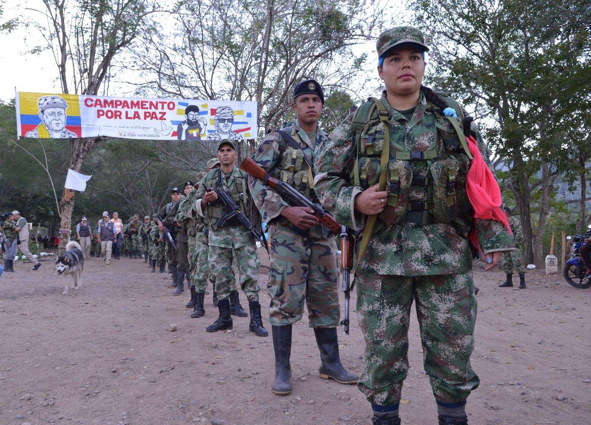 PHOTOS: FARC rebels demobilize in Colombia https://Traveller Location/PKTPX7zSMu