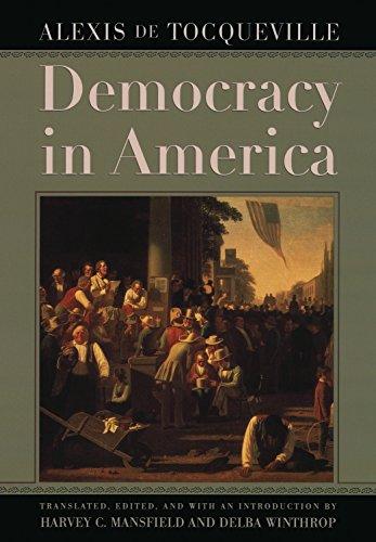 Democracy in America by [de Tocqueville, Alexis]