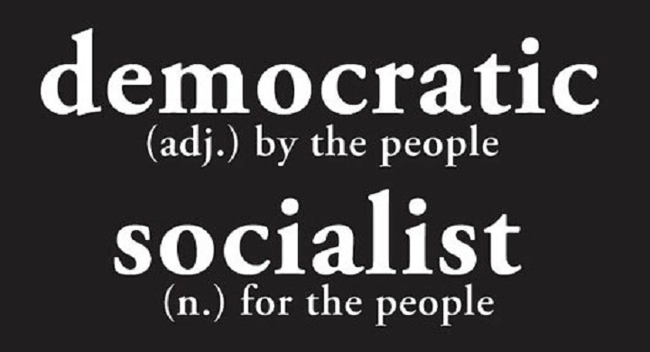 Find out more about what Democratic Socialism is. (Credit: Bernie Sanders  Video)